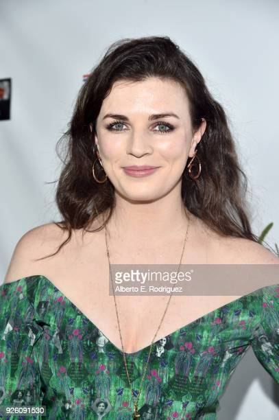 Aisling Bea attends the Oscar Wilde Awards 2018 at Bad Robot on March 1 2018 in Santa Monica California