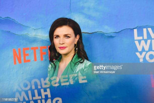 Aisling Bea attends the premiere of Netflix's Living With Yourself at ArcLight Hollywood on October 16 2019 in Hollywood California