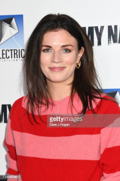 Aisling Bea attends the Say My Name Gala Screening at Odeon Luxe Leicester Square on April 23 2019 in London England