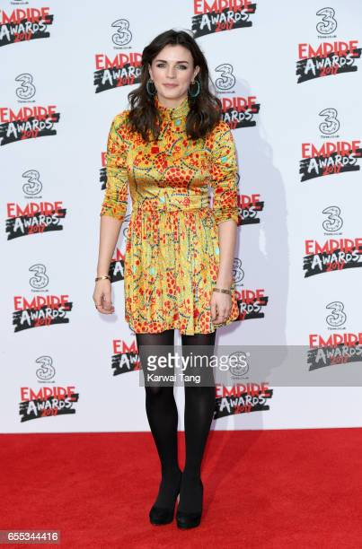 Aisling Bea attends the THREE Empire awards at The Roundhouse on March 19 2017 in London England