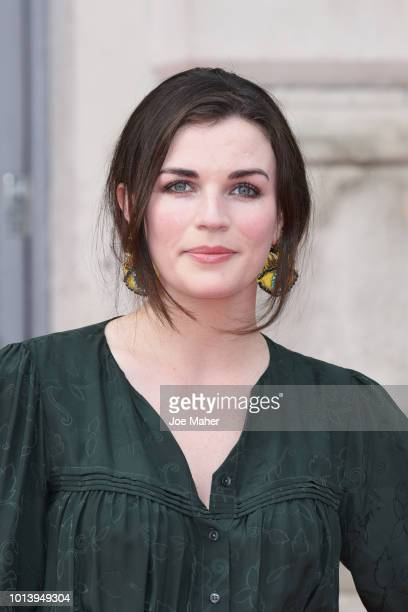 Aisling Bea attends the UK Premiere of 'The Wife' at Somerset House on August 9 2018 in London England