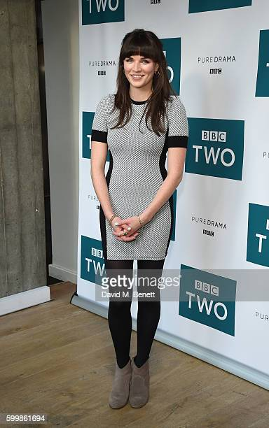 Aisling Bea of BBC Two drama 'The Fall' attends the launch of series three at BFI Southbank on September 7 2016 in London England