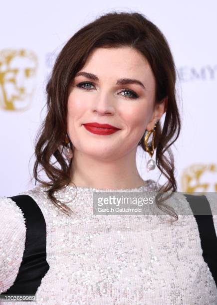 Aisling Bea poses in the Winners Room during the EE British Academy Film Awards 2020 at Royal Albert Hall on February 02 2020 in London England