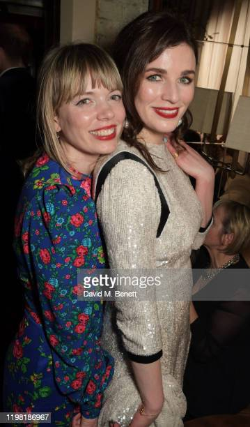 Aisling Bea poses the Netflix BAFTA after party at Chiltern Firehouse on February 2 2020 in London England