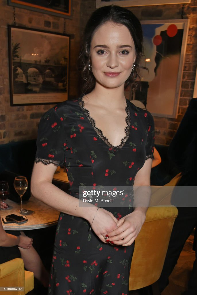 InStyle EE Rising Star Party Ahead Of The EE BAFTAs At The Granary Square Brasserie