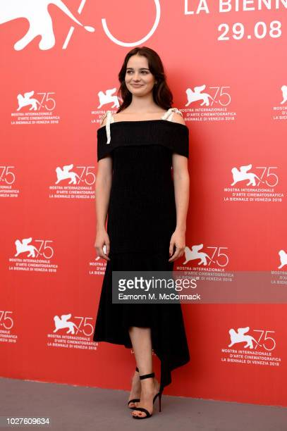 Aisling Franciosi attends 'The Nightingale' photocall during the 75th Venice Film Festival at Sala Casino on September 6 2018 in Venice Italy
