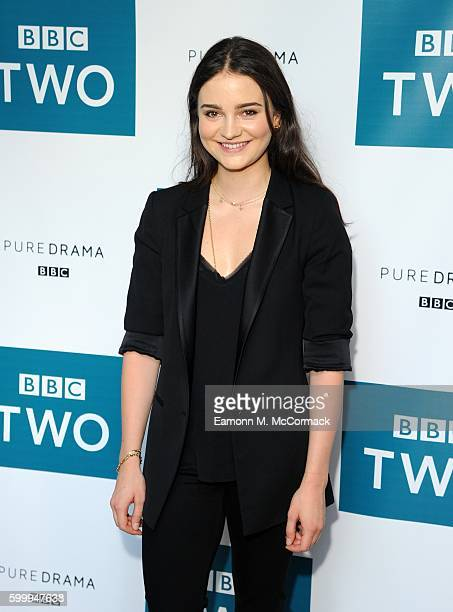 Aisling Franciosi attends the screening of BBC Two drama 'The Fall' to launch series three at BFI Southbank on September 7 2016 in London England