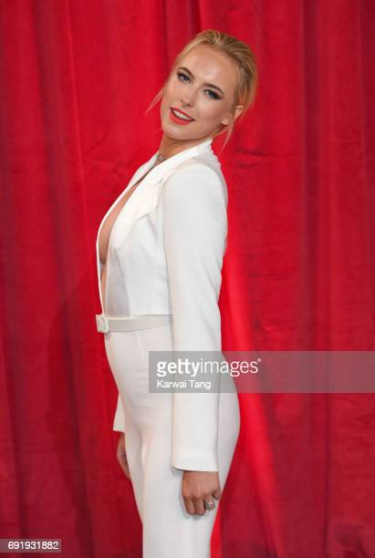 Aisling JarrettGavin attends the British Soap Awards at The Lowry Theatre on June 3 2017 in Manchester England