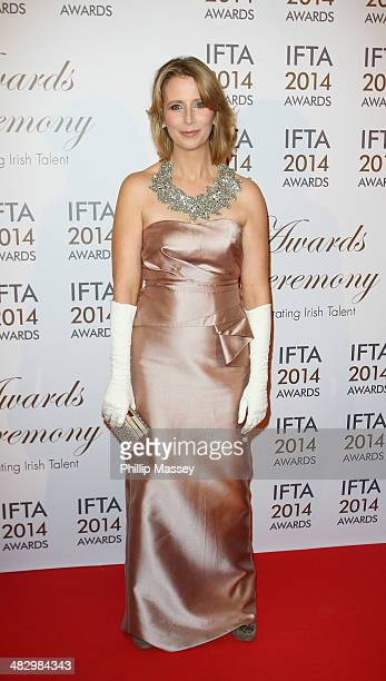 Aisling O'Loughlin attends the Irish Film And Television Awards on April 5 2014 in Dublin Ireland