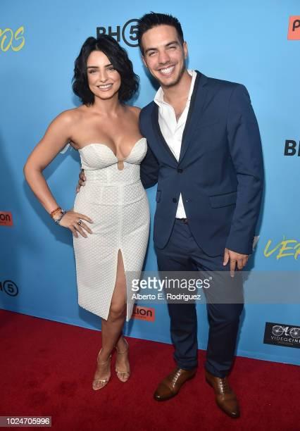 Aislinn Derbez and Vadhir Derbez attend the premiere of Pantelion Films' Ya Veremos at Regal Cinemas LA LIVE Stadium 14 on August 27 2018 in Los...