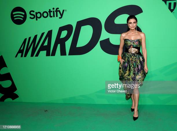 Aislinn Derbez attends the 2020 Spotify Awards at the Auditorio Nacional on March 05 2020 in Mexico City Mexico
