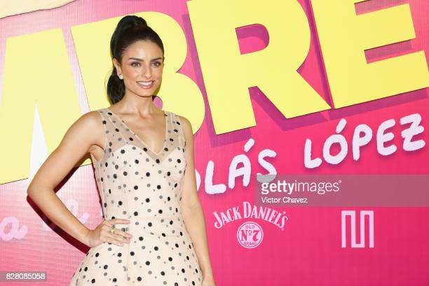 Aislinn Derbez attends the 'Hazlo Como Hombre' Mexico City premiere at Cinepolis Oasis Coyoacan on August 8 2017 in Mexico City Mexico