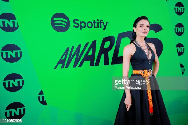 Aislinn Derbez onstage during the 2020 Spotify Awards at the Auditorio Nacional on March 05 2020 in Mexico City Mexico