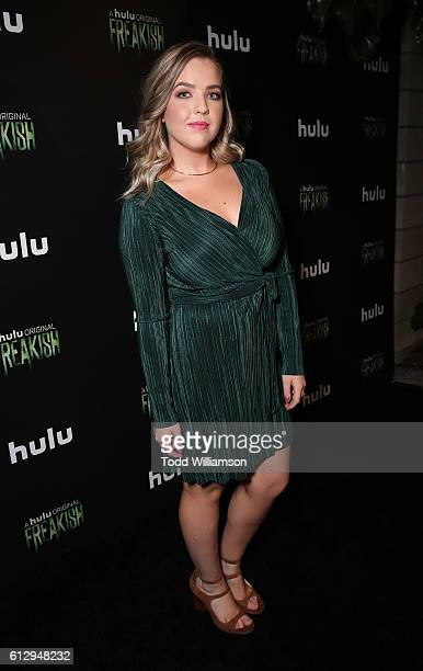 Aislinn Paul attends Hulu Original 'Freakish' Premiere at Smogshoppe on October 5 2016 in Los Angeles California