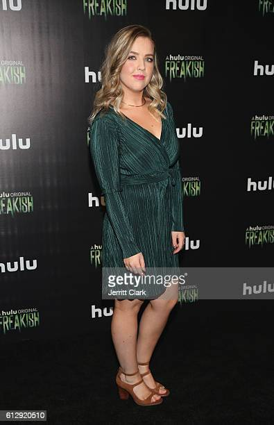 Aislinn Paul attends the Premiere Of Hulu's 'Freakish' Arrivals at Smogshoppe on October 5 2016 in Los Angeles California