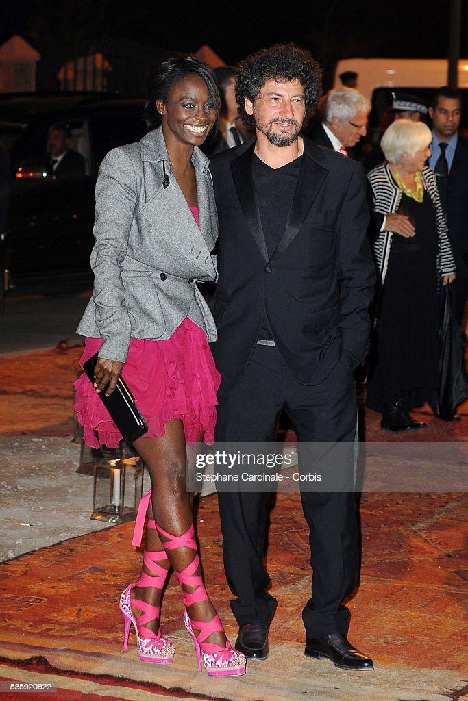 Aissa Maiga and Radu Mihaileanu attend The Dior Party during the Marrakech 10th Film Festival.