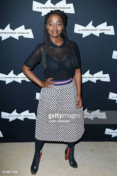 Aissa Maiga attends Hou HsiaoHsien Retrospective at Cinematheque Francaise on February 17 2016 in Paris France