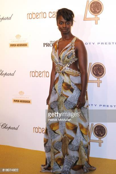 Aissa Maiga attends ROBERTO CAVALLI 40th Anniversary Event CONTACT SIPA PRESS FOR SALES at Les BeauxArts de Paris on September 29 2010 in Paris France