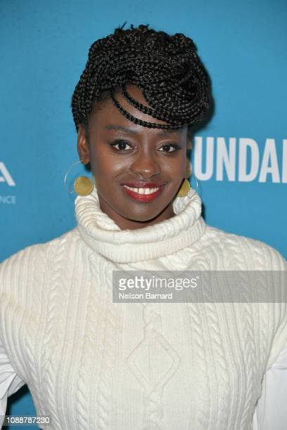 Aissa Maiga attends Salt Lake Opening Night Screening Of The Boy Who Harnessed The Wind Presented By Zions Bank during 2019 Sundance Film Festival at...