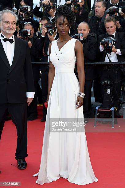 Aissa Maiga attends the 'MrTurner' Premiere at the 67th Annual Cannes Film Festival on May 15 2014 in Cannes France