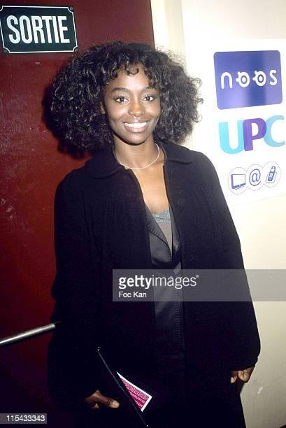 Aissa Maiga during 2006 Jeunes Talents Trophies Awards Ceremony at Theatre Le Splendid in Paris France