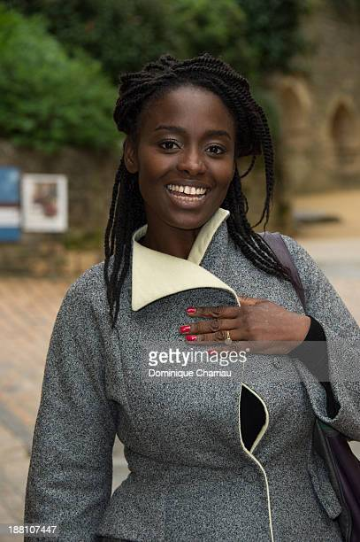 Aissa Maiga poses during the ' Pret A Tout ' photocall during the 22rd Sarlat Film Festival on November 15 2013 in SarlatlaCaneda France