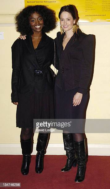 Aissa Maigi and Marie Gillain during 2006 Renault French Film Festival Launch at The British Academy in London Great Britain