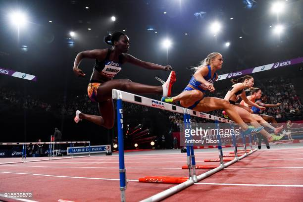 Aisseta Diawara during the Meeting of Paris Indoor 2018 at AccorHotels Arena on February 7 2018 in Paris France