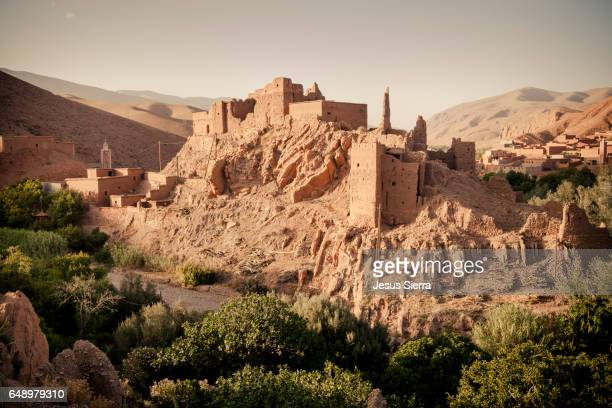 ait ali kasbah dades gorge morocco - mythological character stock photos and pictures