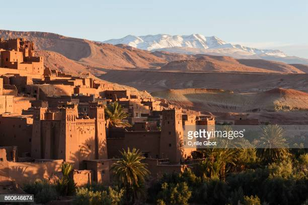 Ait Benhaddou Kasbah at dawn, Morocco