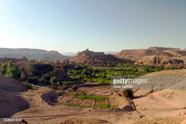 ait benhaddou, ounila valley, southern morocco - adobe stock pictures, royalty-free photos & images