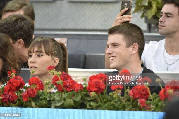 Aitana and Miguel Bernardeau attend Mutua Madrid Open at Caja Magica on May 11 2019 in Madrid Spain