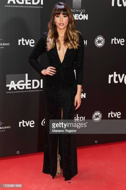 Aitana attends Odeon Awards 2020 at Royal Theater on January 20 2020 in Madrid Spain