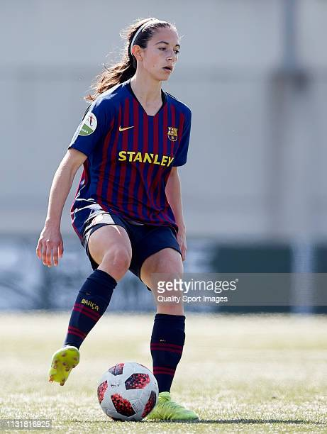 Aitana Bonmati of FC Barcelona in action during the La Liga Iberdrola first division match between Real Betis Balompie and FC Barcelona at Ciudad...