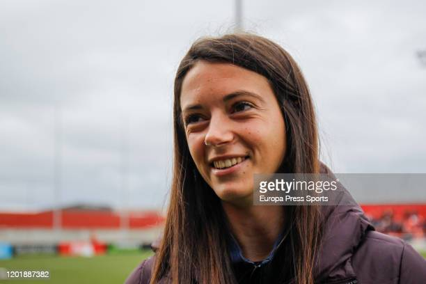 Aitana Bonmati of FC Barcelona is seen before the Spanish League Primera Iberdrola women football match played between Atletico de Madrid Femenino...