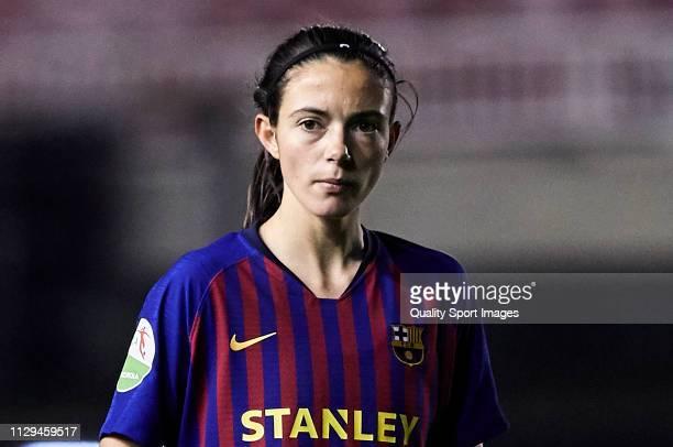 Aitana Bonmati of FC Barcelona looks on during the Liga Iberdrola match at Mini Estadi on February 13 2019 in Barcelona Spain