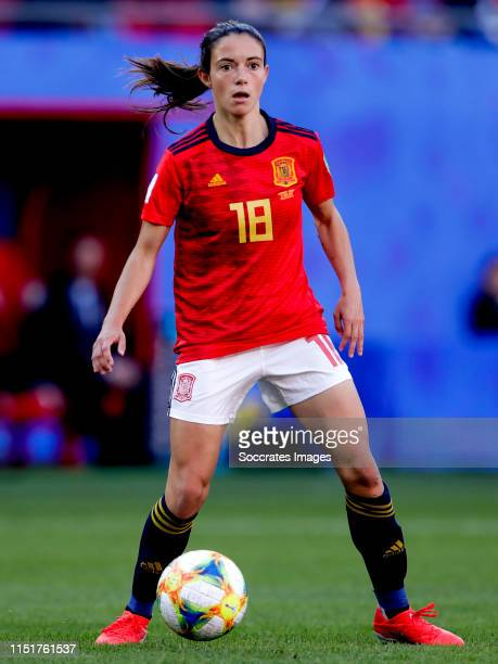 Aitana Bonmati of Spain Women during the World Cup Women match between Germany v Spain at the Stade du Hainaut on June 12 2019 in Valenciennes France