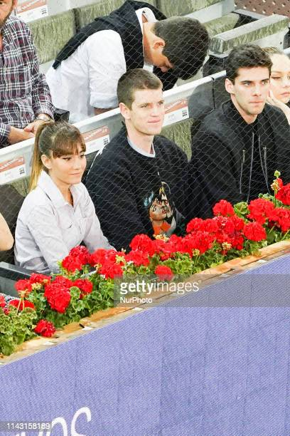 Aitana, Miguel Bernardeau during the Mutua Madrid Open 2019 tenis tournament at Caja Magica in Madrid, Spain, on May 11, 2019.