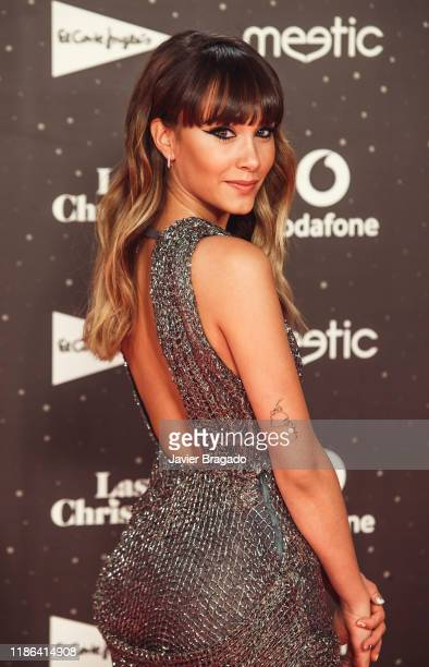 Aitana Ocaña attends 'Los40 music awards 2019' photocall at Wizink Center on November 08 2019 in Madrid Spain