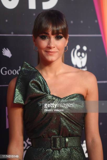 Aitana Ocaña attends the 40 Principales Awards nominated dinner at Florida Retiro on September 12 2019 in Madrid Spain