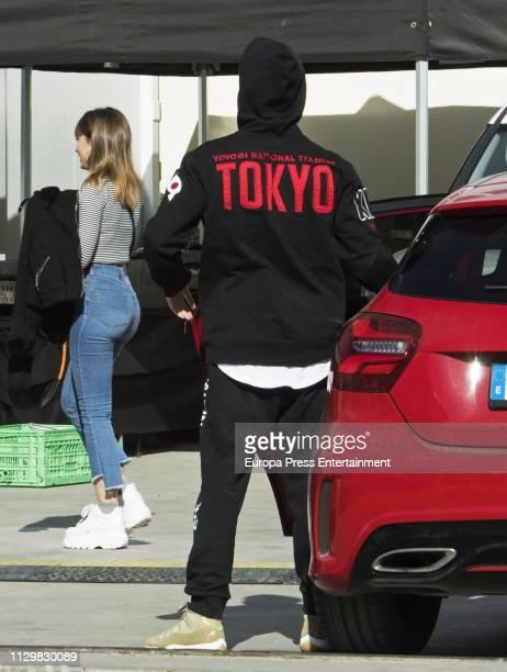 Aitana Ocana and Miguel Bernardeau are seen on February 14 2019 in Madrid Spain