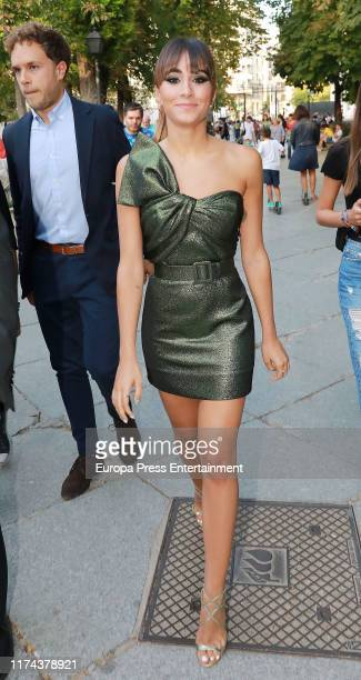 Aitana Ocana attends the 40 Principales Awards nominated dinner at Florida Retiro on September 12 2019 in Madrid Spain
