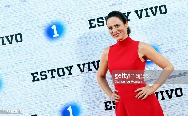 Aitana Sanchez Gijón attends Estoy Vivo 3 Madrid Premiere on September 09 2019 in Madrid Spain