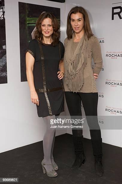 Aitana Sanchez Gijon and Carmen Posadas attends Aitana«s Magic Moments on December 3 2009 in Madrid Spain