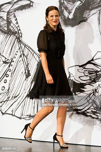 Aitana Sanchez Gijon attends 'Bigas X Bigas' premiere during 64th San sebastian Film Festival on September 20 2016 in San Sebastian Spain