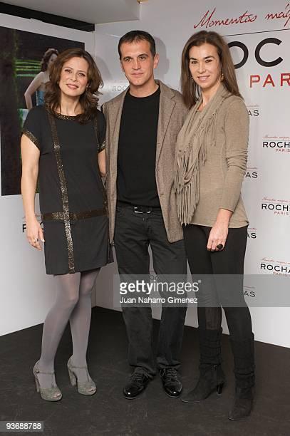 Aitana Sanchez Gijon Javier Salas and Carmen Posadas attends Aitana«s Magic Moments on December 3 2009 in Madrid Spain