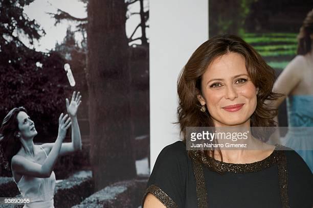 Aitana Sanchez Gijon presents her Magic Moments on December 3 2009 in Madrid Spain