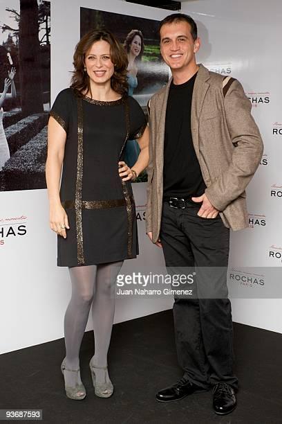Aitana Sanchez Gijon presents her Magic Moments with the photographer Javier Salas on December 3 2009 in Madrid Spain