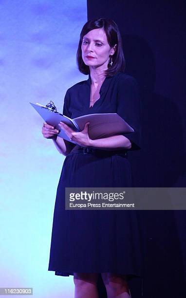 Aitana Sanchez Gijon takes part in 'Remembering Saramago' an homage to the Portuguese writer and Nobel Prize for Literature Jose Saramago at Casa...