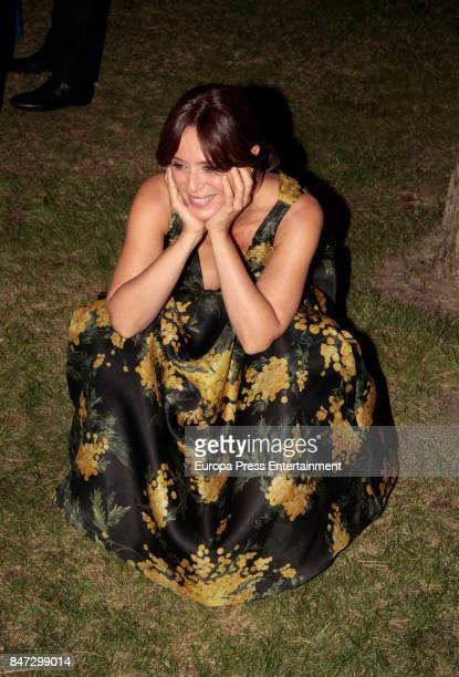 Aitana SanchezGijon attends the 40th birthday of Paula Echevarria at El Chaparral state restaurant on September 14 2017 in Madrid Spain